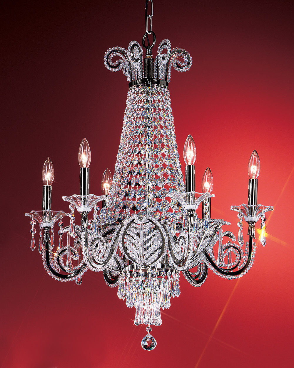 Https Foter Com Crystal Gold Leaf Chandelier