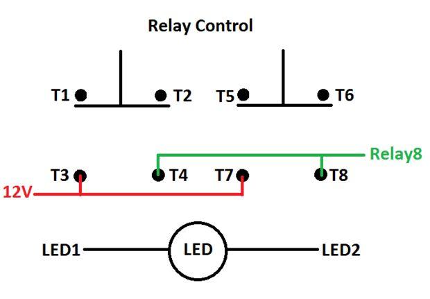 double rocker switch diagrama de cableado