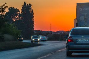 Трасса Керчь-Симферополь. Фото Николая Ефремова