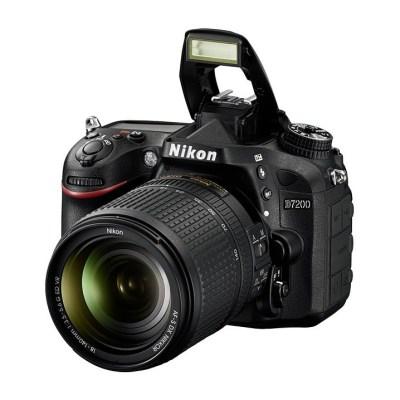 Nikon D7200 med AF-S 18-140/3,5-5,6G DX ED VR