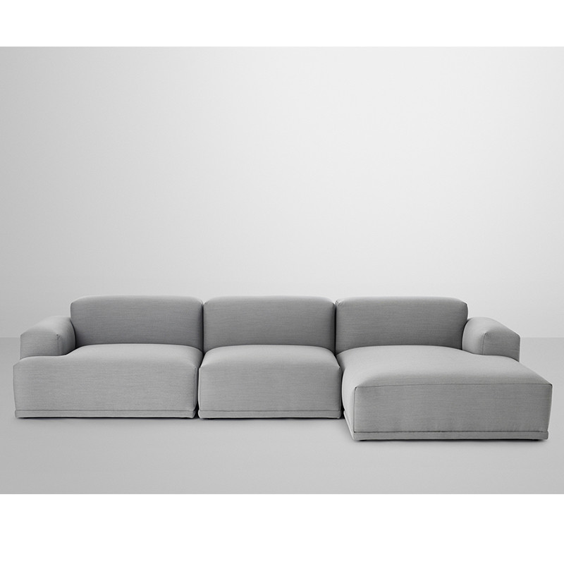 Hay Sofa Mags Muuto Connect Modul Sofa 3. Personer M. Lounge - Connect Sofa