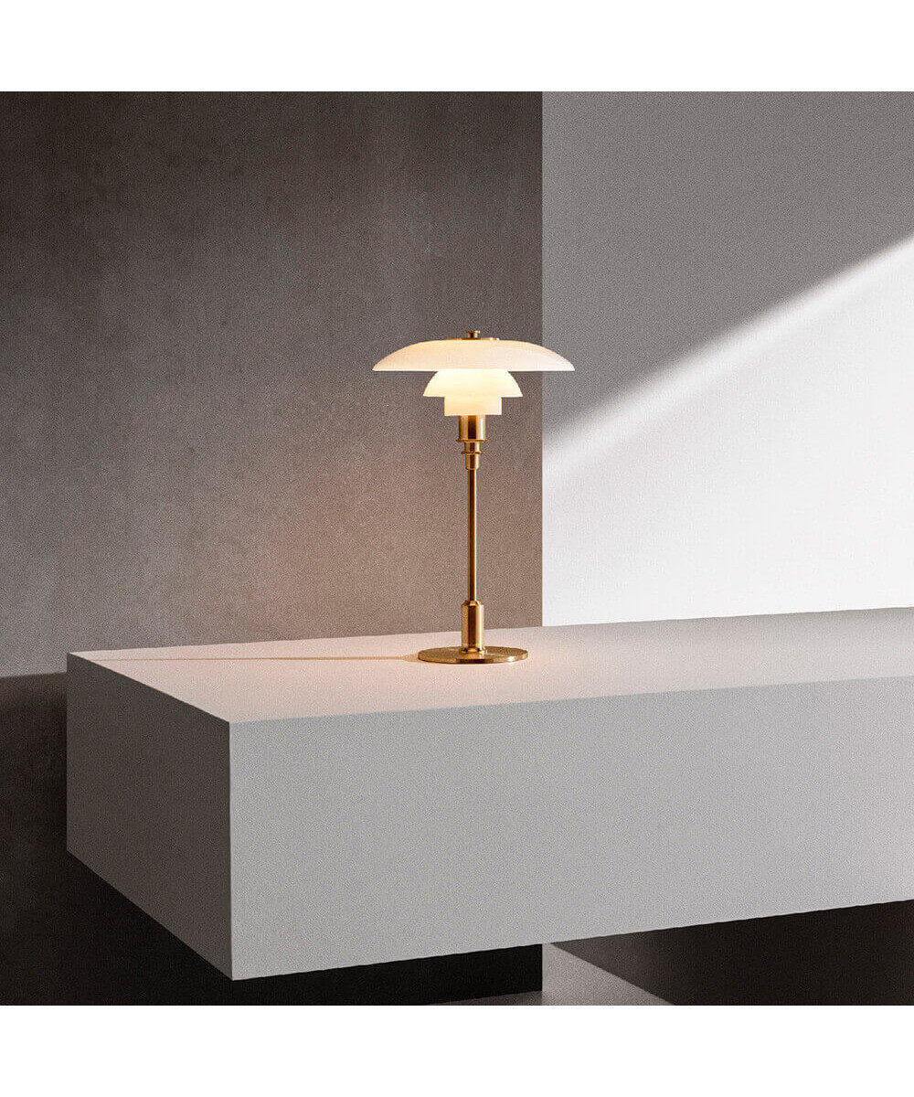 Louis Poulsen Ph 3 2 Ph 3 2 Table Lamp Brass Louis Poulsen