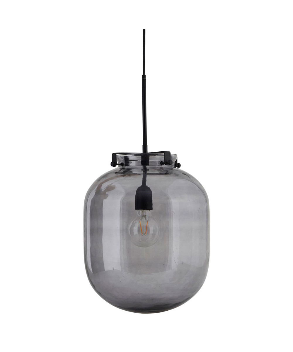 Lampe Ball Ball Pendant Lamp Grey House Doctor
