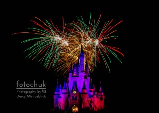 Christmas Colored Disney Fireworks Darcy Michaelchuk