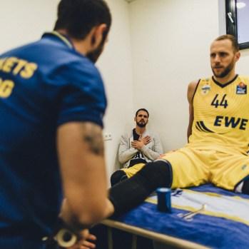09.10.16 easyCredit BBL 4. Spieltag: EWE Baskets - BG Göttingen