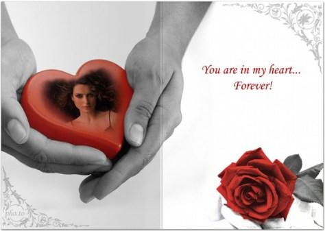Fotomontajes de corazones para Facebook