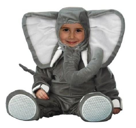 Disfraces infantiles de Halloween 2012