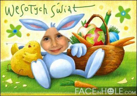 Montajes infantiles para Pascua.