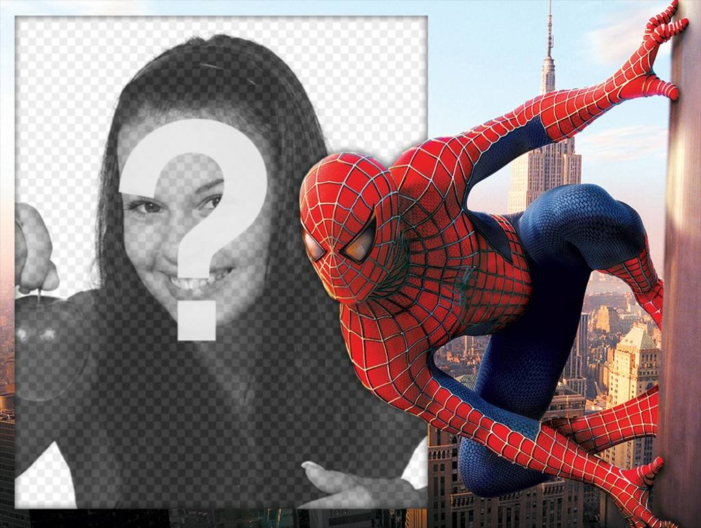 Birthday Editing Photo Foto Efecto Con Spiderman Para Editar Con Tu Foto Gratis