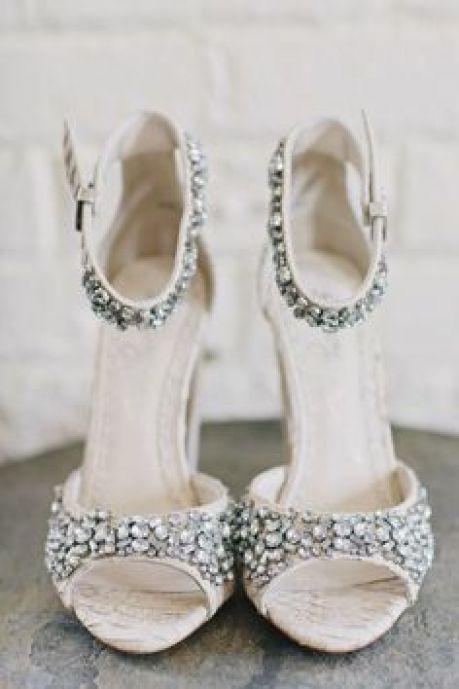 sandália de noiva