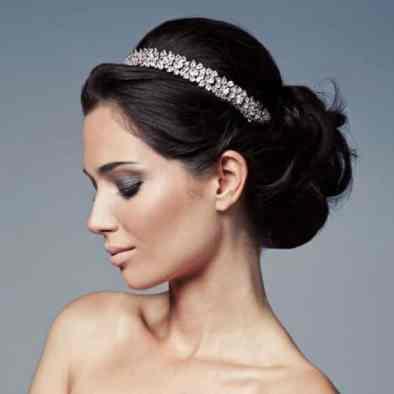 tiara noiva brilho