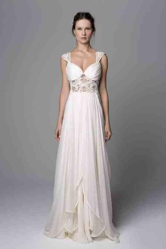 vestido noiva campo