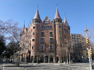 """Barcelona! """"Casa de les Punxes"""", Casa Terrades – Fotografías de Ciudad"""