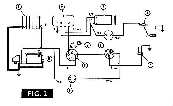 massey ferguson 135 electrical schematics