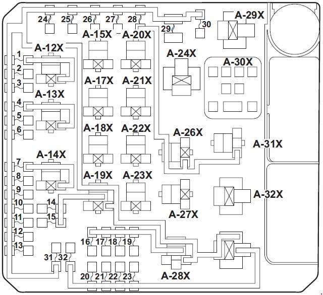 diagram of fuse box for 2002 kia rio