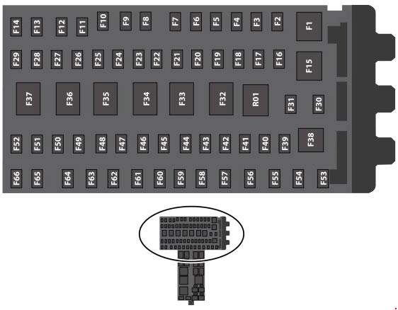 T Knigaproavtoru on Ford Flex Fuse Box Diagram