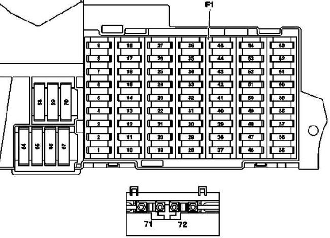 1996 mercedes s420 fuse box diagram