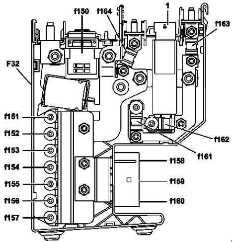 2007\u20142014 Mercedes-Benz W204 (C-Class) fuse diagram » Fuse Diagram