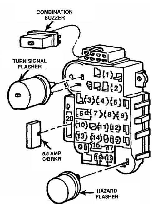 wiring diagram for warning horn on time delay