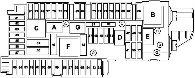 slk 350 fuse box diagram
