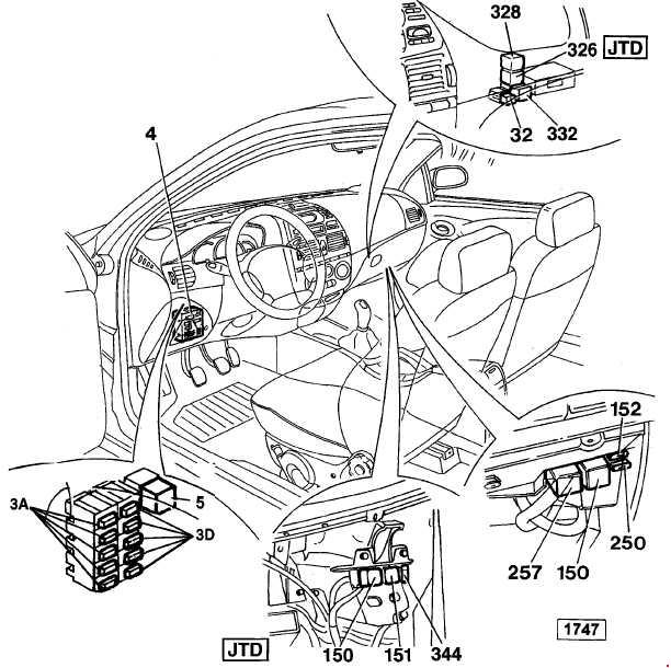 1998 fiat bravo 14 fuse box diagram