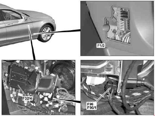 Mercedes Benz C Class W205 Fuse Diagram Fuse Diagram
