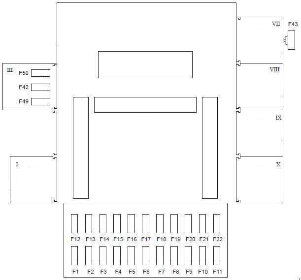 1997-2002 Ford Fiesta Mk4 Fuse Box Diagram » Fuse Diagram