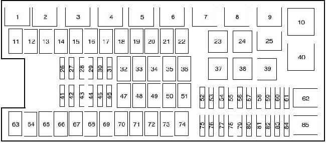 2009 ford f150 fuse box diagram