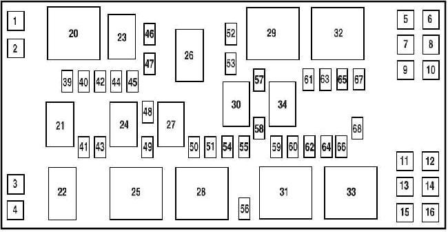 mustang 05 09 v6 fuse box diagram