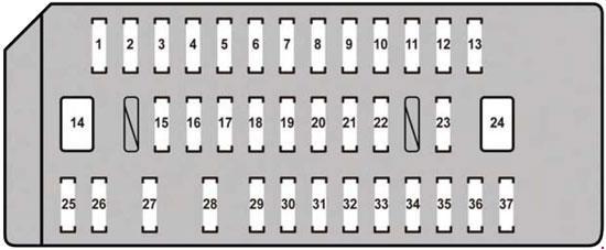 Lexus Is 350 Fuse Box Diagram Wiring Schematic Diagram