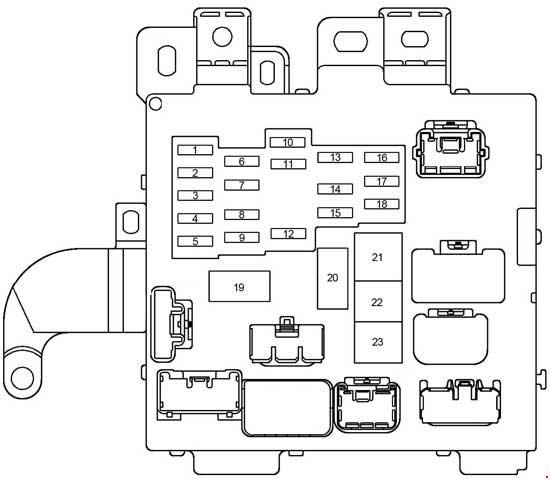 1999 Toyota Camry Fuse Box Diagram - Wiring Diagrams