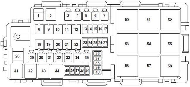 Ford Fusion Fuse Box Cabin Wiring Diagram