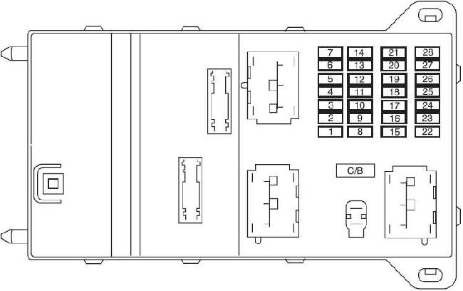 2013 Fusion Fuse Box Location Wiring Diagram 2019