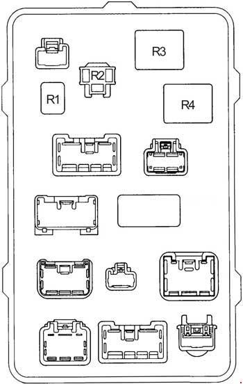 1997\u20132005 Toyota Hilux Fuse Box Diagram » Fuse Diagram