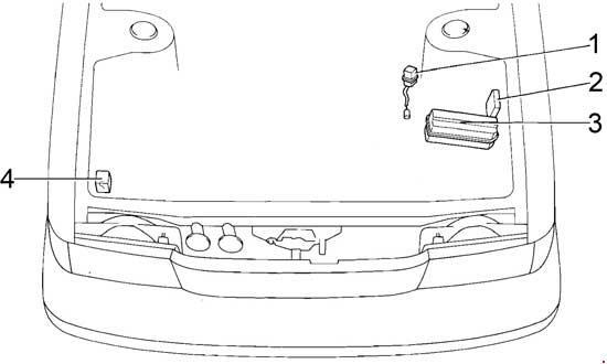 1988-1992 Toyota Cressida (X80) Fuse Box Diagram » Fuse Diagram