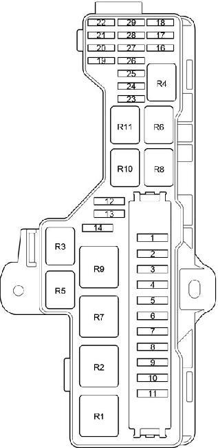 2004 toyota matrix fuse diagram
