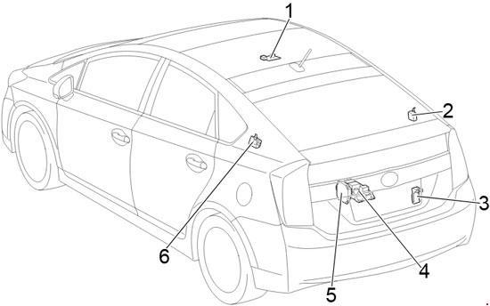 2009 prius fuse box diagram