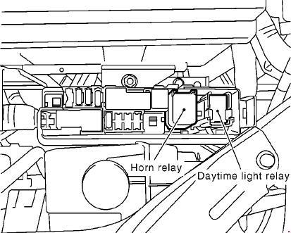 2004-2013 Nissan Note (E11) Fuse Box Diagram » Fuse Diagram