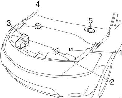 2002-2007 Nissan Murano Fuse Box Diagram » Fuse Diagram