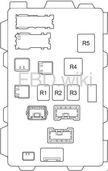 fuse panel box 2003 toyota corolla s