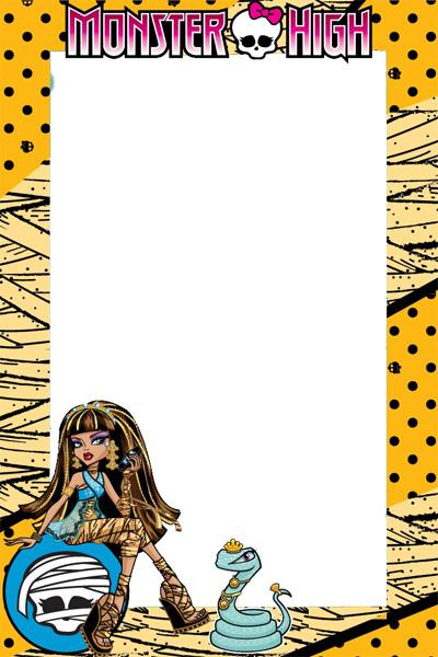 Marcos de Fotos Monster High Cleo de Nile