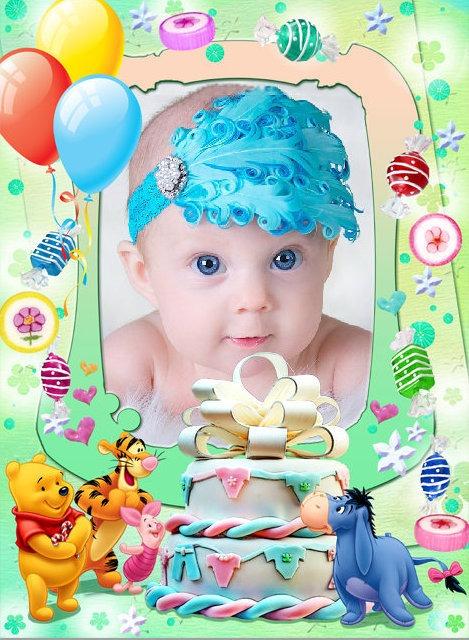Marcos para fotos de cumpleaños de niños « Fotomontajes Divertidos