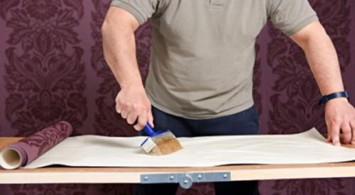 cara memasang wallpaper