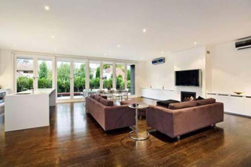 ruang keluarga minimalis 11