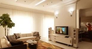 ruang keluarga minimalis 13
