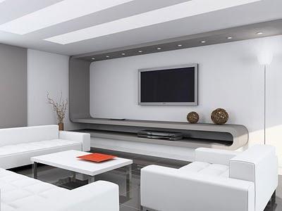 ruang keluarga minimalis 6