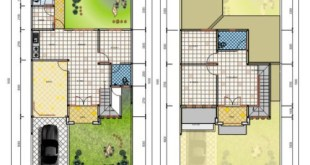Desain Rumah Minimalis 2 Lantai Type 45 (1)