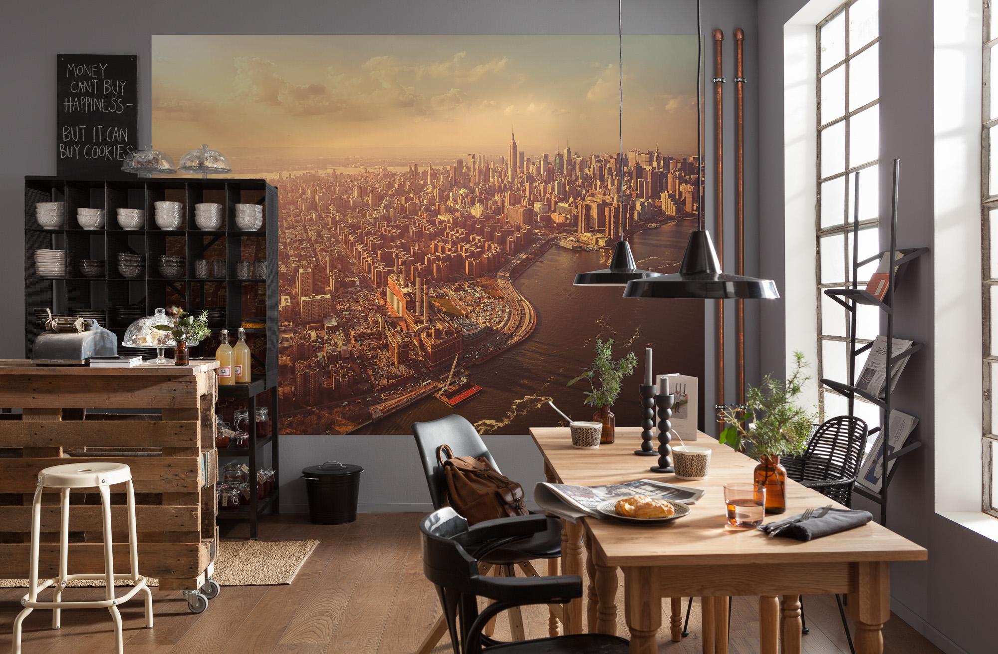 Fototapeten Küche   3d Fototapete Fenster Mit Natur Laubengang ...