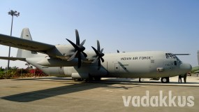 A C-130J Super Hercules of the Indian Air Force