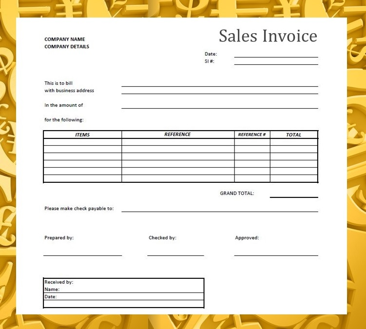 Forms  Documents Needed for Proper Accounting Documentation - invoice documents